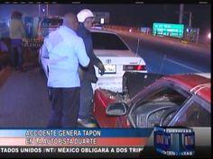 Accidente Genera Tapón En La Autopista Duarte #Video