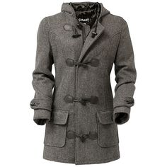 Women's Duffle Coat D742W ($270) ❤ liked on Polyvore