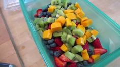 I made fruit salad this morning! Yummy Yummy, Fruit Salad, Mom, Life, Fruit Salads, Mothers