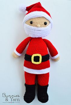 Make your own Santa Claus with this CROCHET PATTERN.