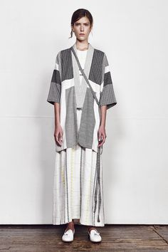 Ace & Jig Spring 2016 Ready-to-Wear Collection Photos - Vogue Look Fashion, Runway Fashion, Fashion Show, Womens Fashion, Fashion Design, Ace And Jig, Neutral, Ootd, Spring Collection
