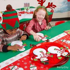 Hand out Snowman Craft Kits for 4 to your class and let them express their creativity!