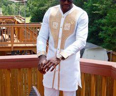 Men African Wear, Men African Attire, African Clothing Men,  African Men's…
