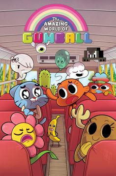 The Amazing World of Gumball (also known simply as just Gumball) is a British-American animated television series created by Ben Bocquelet for Cartoon Network. Cartoon Network Characters, Cartoon Network Shows, Cartoon Shows, Disney Characters, Cartoon Kunst, Cartoon Art, Cartoon Memes, Cartoon Drawings, Cartoon Wallpaper