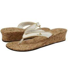 Sanuk flip flops : Sanuk French Kiss White Women's Wedge Sandal