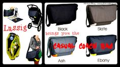 Lassig Diaper Bags - Casual Coach Bag ~ Review & Giveaway!! (ends 6/19)