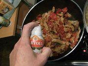 Kochen mit den Bertolli Olivenöl-Sprays Sprays, Food, Simple, Kochen, Meal, Essen, Hoods, Meals, Eten