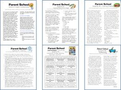parent letters to explain reading strategies