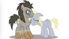 This picture makes me so sad I love Derpy and the doctor I'm so glad that Derpy would stay by his side even if did become discorded I will always love and appreciate Dr and Derpy. I love you doctor I love you.