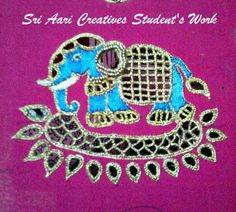 47 Best Aari Embroidery Classes In Chennai India Images In 2019