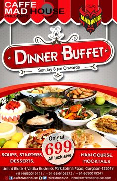 It's the best of both worlds – an unlimited food buffet, but brought straight to your table from the kitchen so you don't have to worry about food going cold sitting out on trays, and you really don't have to lift a finger {spoiled, who us?}. #buffetdinner #dinner