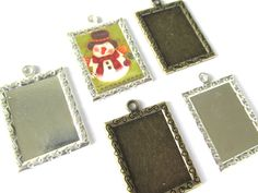Photo Setting, Gift Tags.  These are so fun!