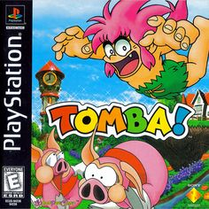 playstation 1 game tomba - Google Search