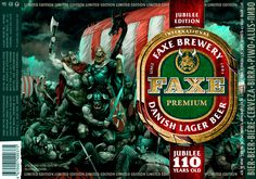 FAXE Beer Limited Edition on Behance Premium Beer, Lager Beer, Best Beer, Brewery, Vikings, Tattoo Ideas, Angels, Behance, Woman