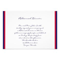 DealsRed White and Blue Wedding Rehearsal Announcementsin each seller & make purchase online for cheap. Choose the best price and best promotion as you thing Secure Checkout you can trust Buy best