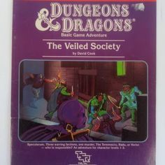 Swords & Stitchery - Old Time Sewing & Table Top Rpg Blog: Retro Review & Commentary On The OD&D Adventure Module- B6 The Veiled Society For Your Old School OD&D Campaigns