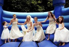 Did it for my 23rd birthday, doing it for the wedding!!! Bouncy Castles yeah!