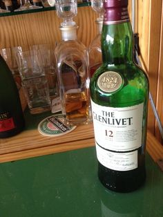 The Glenlivit 12. Tasted on a whisky festival.