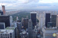 Top of the Rock - New York www.aquelelugar.com.br  #aquelelugar #newyork #centralpark