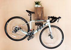 Diy Bike Rack Beautiful Diy Wall Mounted Bike Rack Diy Huntress source Via : Diy Indoor Bike Rack, Diy Bike Rack, Bike Hanger, Bike Storage Rack, Bicycle Rack, Bike Hooks, Home Bike Rack, Garage Bike Storage, Bike Storage Small Space