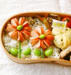 ウインナーの飾り切りアイデア♡かわいいお花の作り方♪