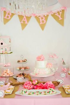 A Sweet Blessings Baby Shower #party #BabyShower