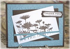 Love to Make Cards: Thank You Upsy Daisy
