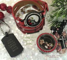 Origami Owl Holiday 2015. Fun in plaid!