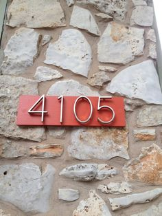 Exterior Mad For Mid Century DIY Mid Century Modern House Numbers ...