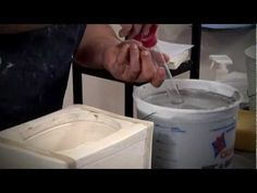 Pottery Video: Creating Interesting Patterns with Colored Casting Slip | GILLIATT