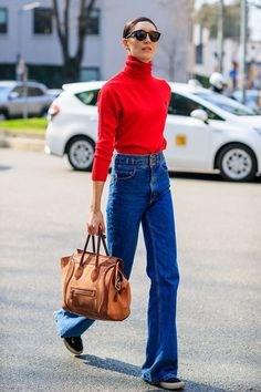 Fall Street Style Outfits to Inspire Herbst Streetstyle Mode / Fashion Week Week Street Style Outfits, Look Street Style, Street Style 2018, Autumn Street Style, Mode Outfits, Autumn Style 2017, Street Styles, Estilo Fashion, Fashion Mode