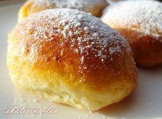 Фото к рецепту: Быстрые пирожки с яблоками как пух на творожном тесте