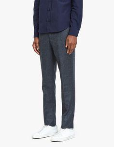 Paul Pants Italian Wool Flannel