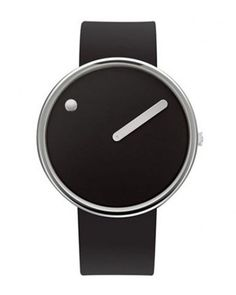 The Rosendahl Picto Analog Watch was designed by Steen Christiansen and Erling Anderson in 1984.