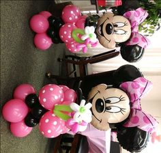 We designed this Mickey and Minnie Mouse Party Theme, Mickey Mouse Centerpieces, Minnie& Mickey Mouse centerpieces, Characters, Arches. Minnie Mouse Birthday Theme, Mickey Mouse Parties, Mickey Mouse And Friends, Minnie Maus Ballons, Mini Mouse Baby Shower, Party City Balloons, Deco Ballon, Mickey Mouse Centerpiece, Kid Pictures