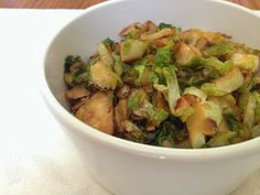 Sh*t Crossfit Girls Do: Honey Sesame Brussels Sprouts