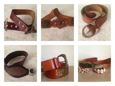 Pure genuine leather belts from sixties  to eighties #nonaprirequellarmadiostyle #nonaprirequellarmadioconcept