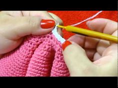 Crochet American Girl Doll Hat Twisted Cable Beanie - Right Hand Version - YouTube