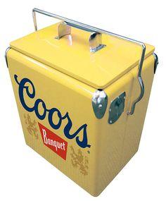 Coors Banquet Picnic Cooler