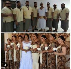 Samoan wedding Tongan Wedding, Samoan Wedding, Polynesian Wedding, Island Wedding Dresses, Wedding Bridesmaid Dresses, Wedding Dress Sleeves, Long Sleeve Wedding, Island Outfit, Maori