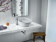 Umywalka Bol - kolekcja inspirowana geometrią form.
