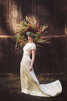"""""""the fall"""" English countryside editorial photographed for Rock My Wedding"""