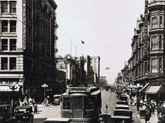 Main Street north from Fourth Street.. Los Angeles.. 1924