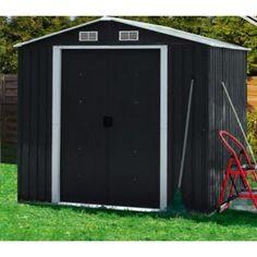Metallinen pihavaja 2,73m2, 299,95€. Suosittu metallivaja kodin säilytystarpeisiin. Pihalle, puutarhaan, mökille. Tällä kätevällä vajalla suojaat tarvikkeet ja varusteet säältä ja varkauksilta. Ilmainen toimitus! #pihavaja
