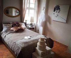 Stilvoll eingerichtetes Schlafzimmer in Heidelberger WG #WG #Schlafzimmer #Heidelberg