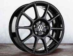 "VW Volkswagen 18"" Motorsport Wheel Color Black 18x7 5 Buy 1 or Buy A Set | eBay"
