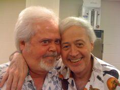 Love this pic of Merrill and Wayne.