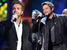 Pablo Alborán y Alejandro Sanz actuando en los Grammy Latinos 2012 #cantantes #famosos #música