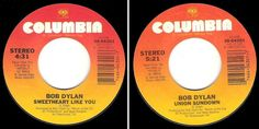 Dylan, Bob / Sweetheart Like You (1983) / Columbia 38-04301 (Vinyl Single), $3.00