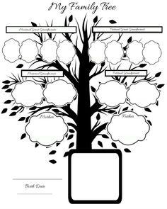 Free-printable family tree